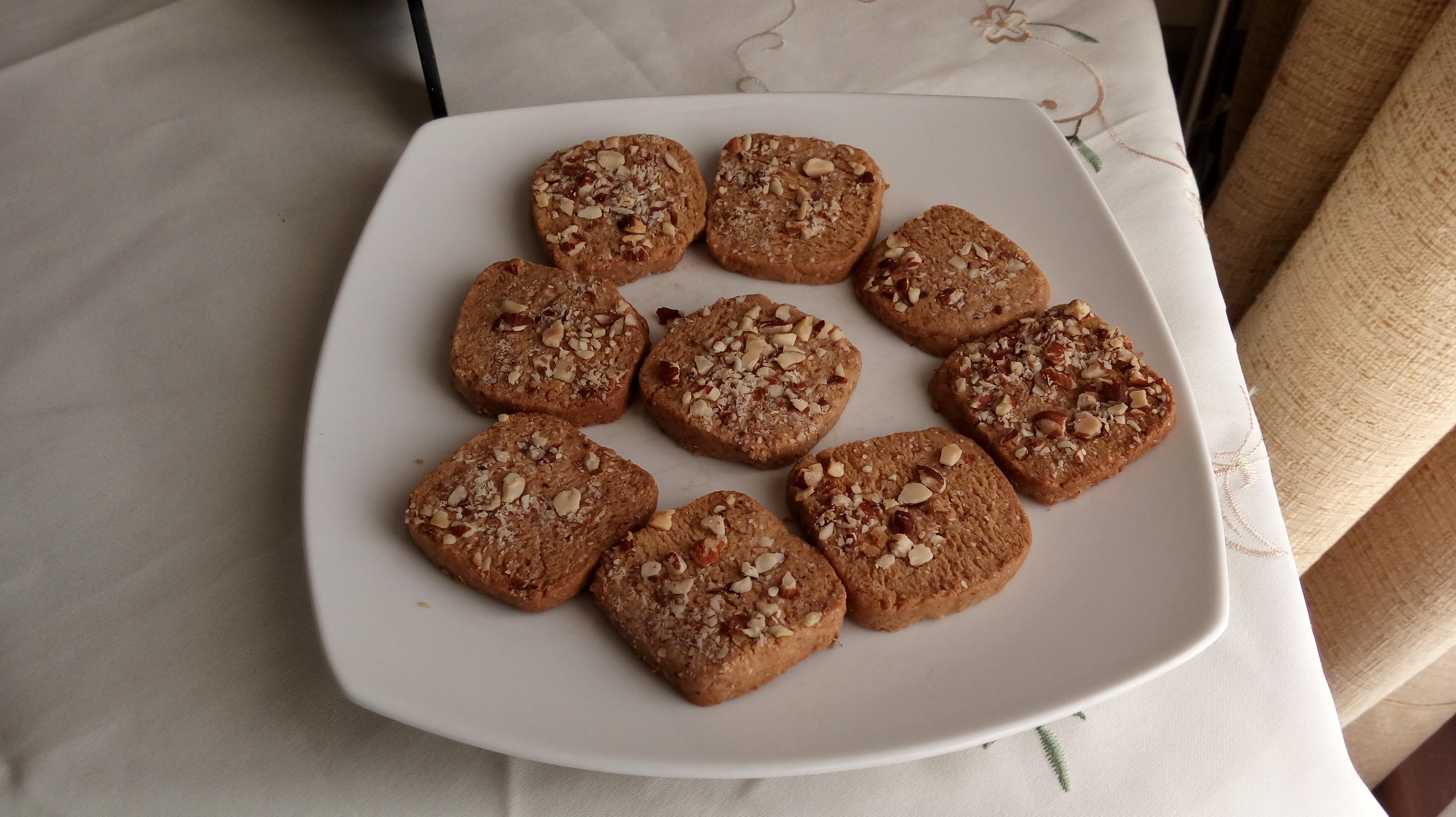 Oma Kiener's Hazelnut Christmas Cookies Tahere Moazez-Godoy