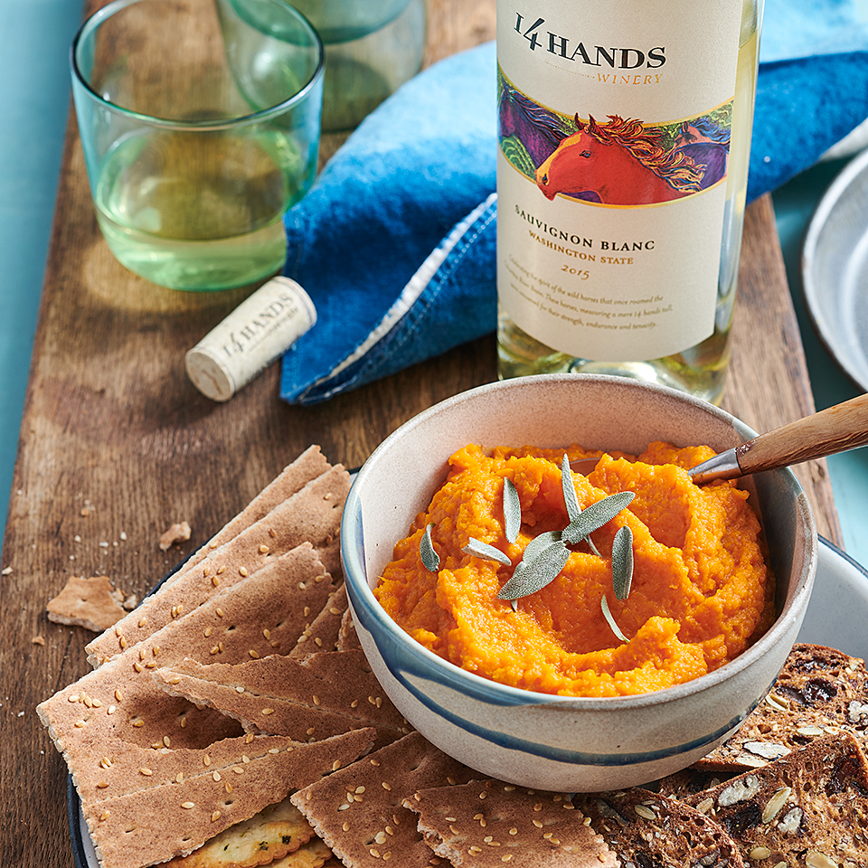 Carrot Maple Dip 14 Hands Winery