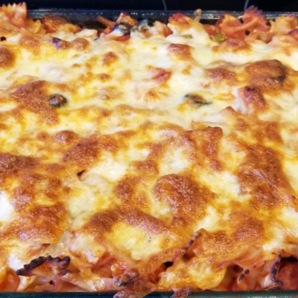Timballo Spaghetti Casserole