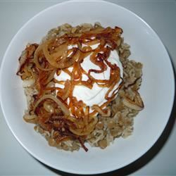 Lentils and Rice with Fried Onions (Mujadarrah)