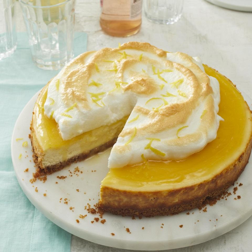 Lemon Meringue Cheesecake Trusted Brands