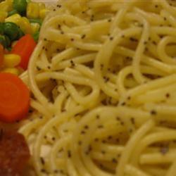 Poppy Seed Spaghettini McBacon