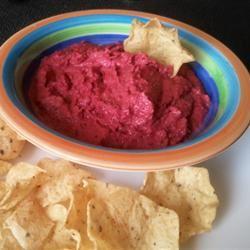 Beetroot Hummus Kaya
