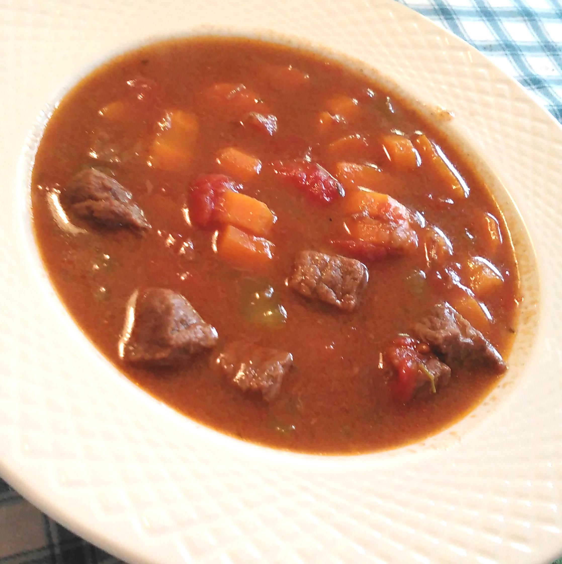 Instant Pot® Stew Using Frozen Meat