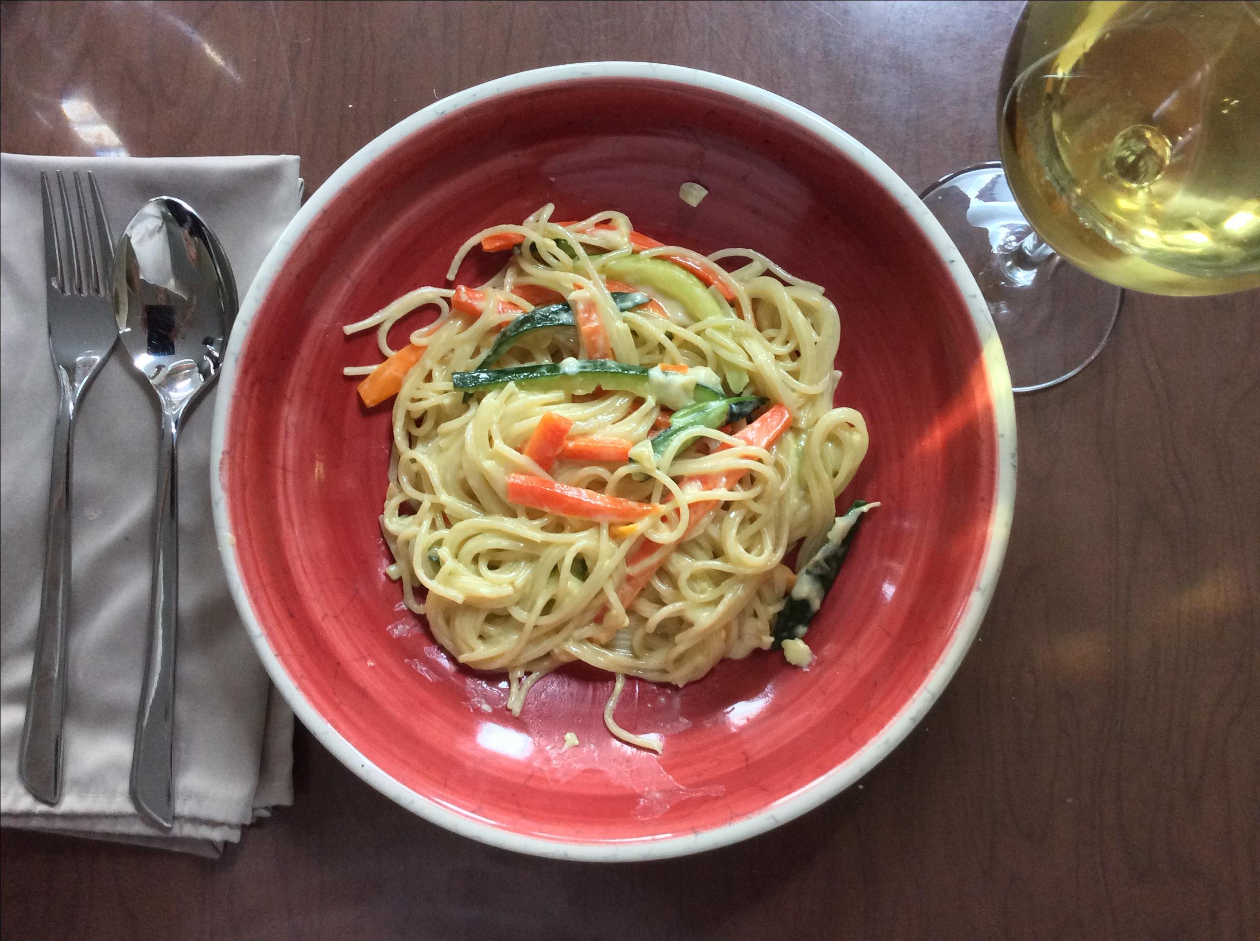 Springtime Spaghetti