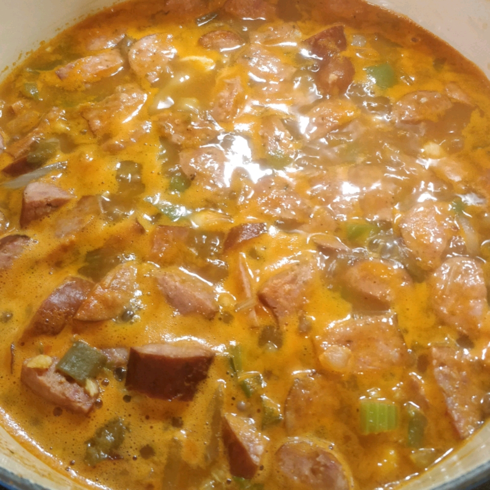 Diet-Friendly Chicken And Sausage Gumbo