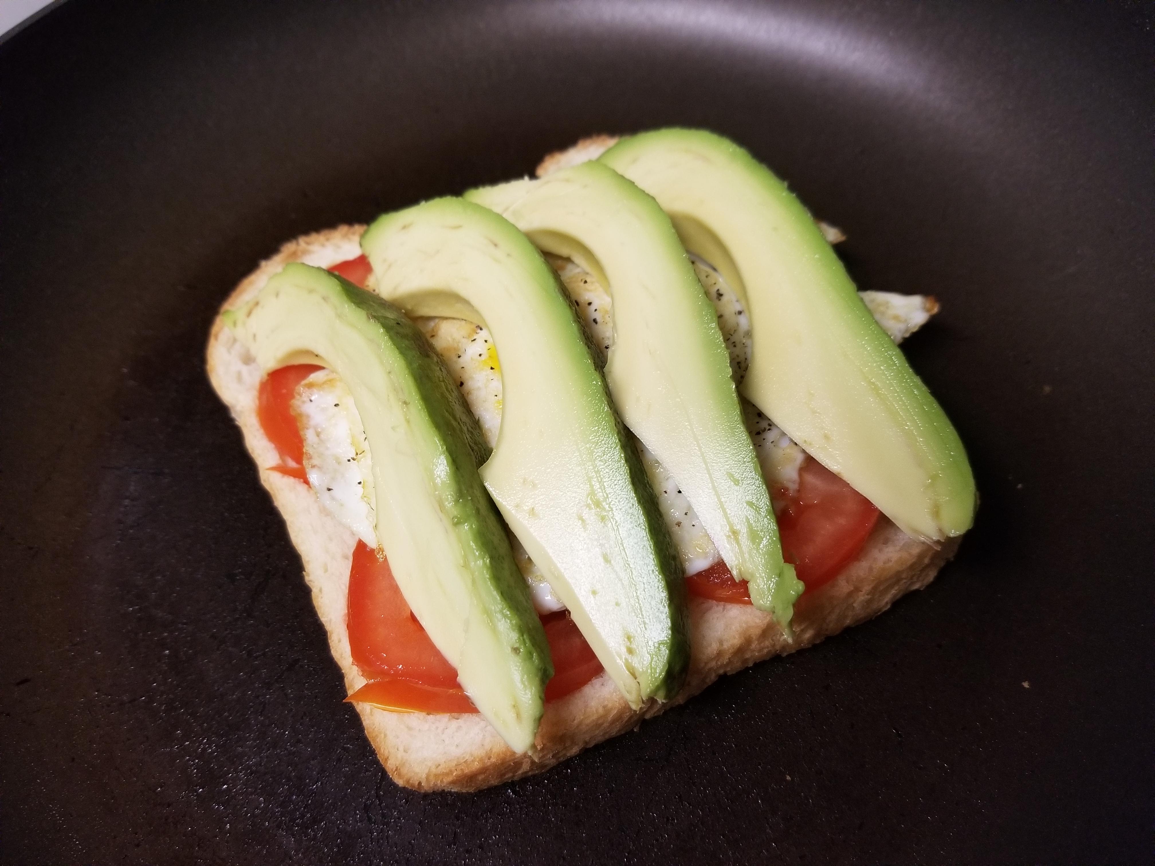 Avocado Breakfast Sandwich Maria J Gatti