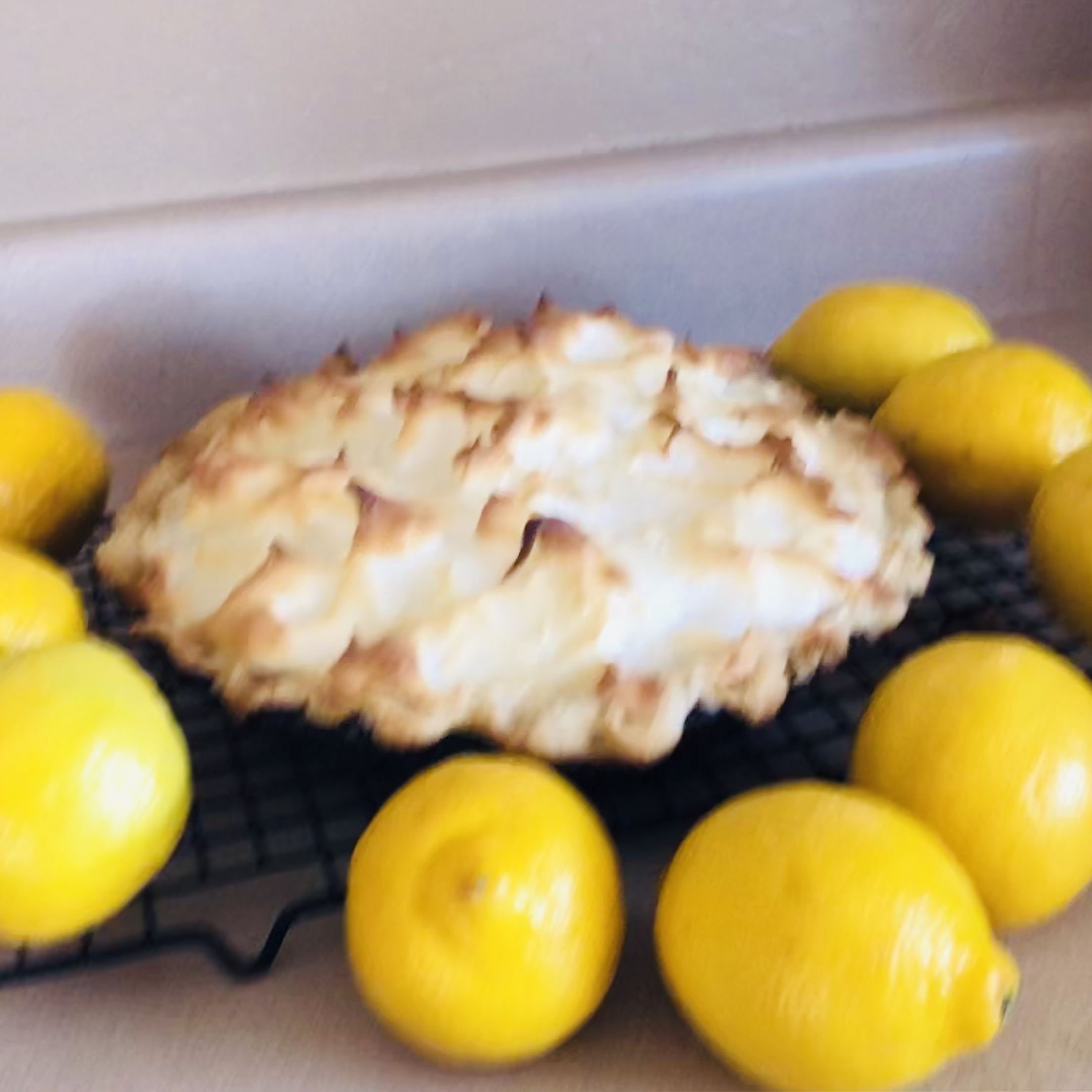 Agave-Sweetened Lemon Meringue Pie Diane