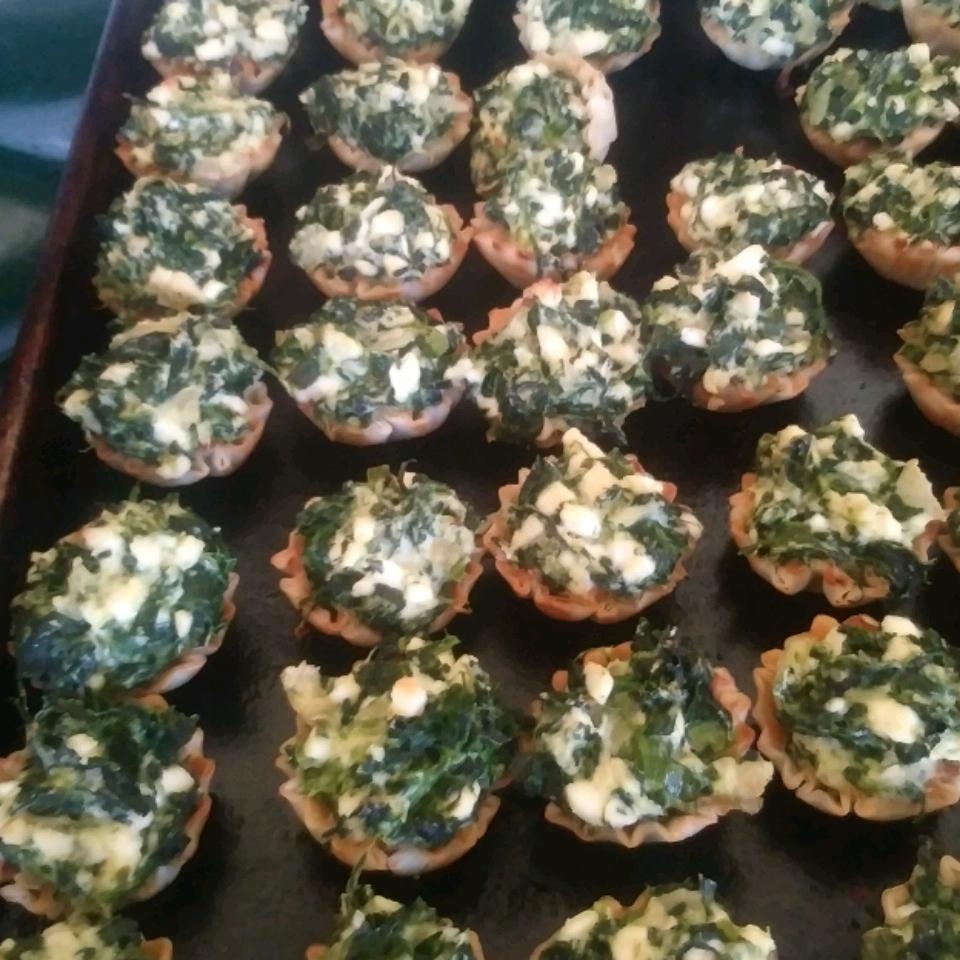Crustless Spinach Pie Paula