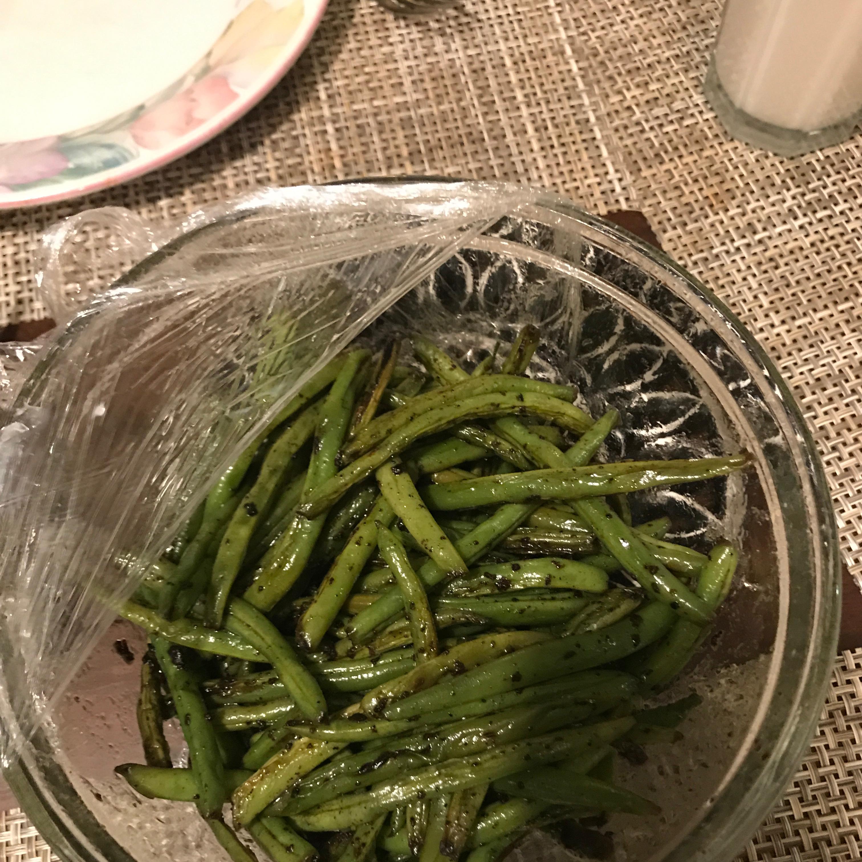 Pan Fried Green Beans Ed Snee