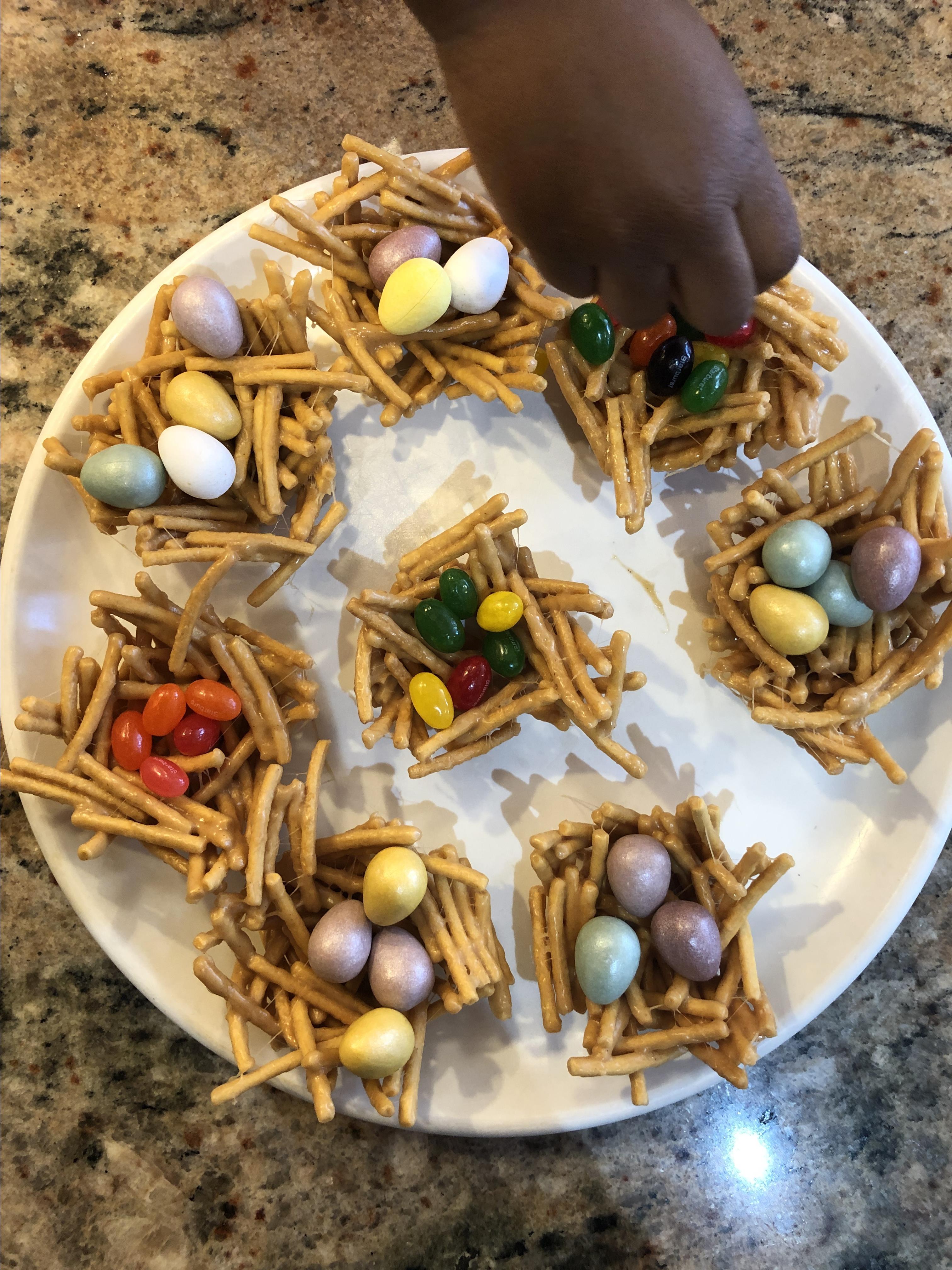 Easter Bird's Nests zeezeebaker