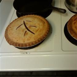 Rhubarb Custard Pie I June Whitehorn