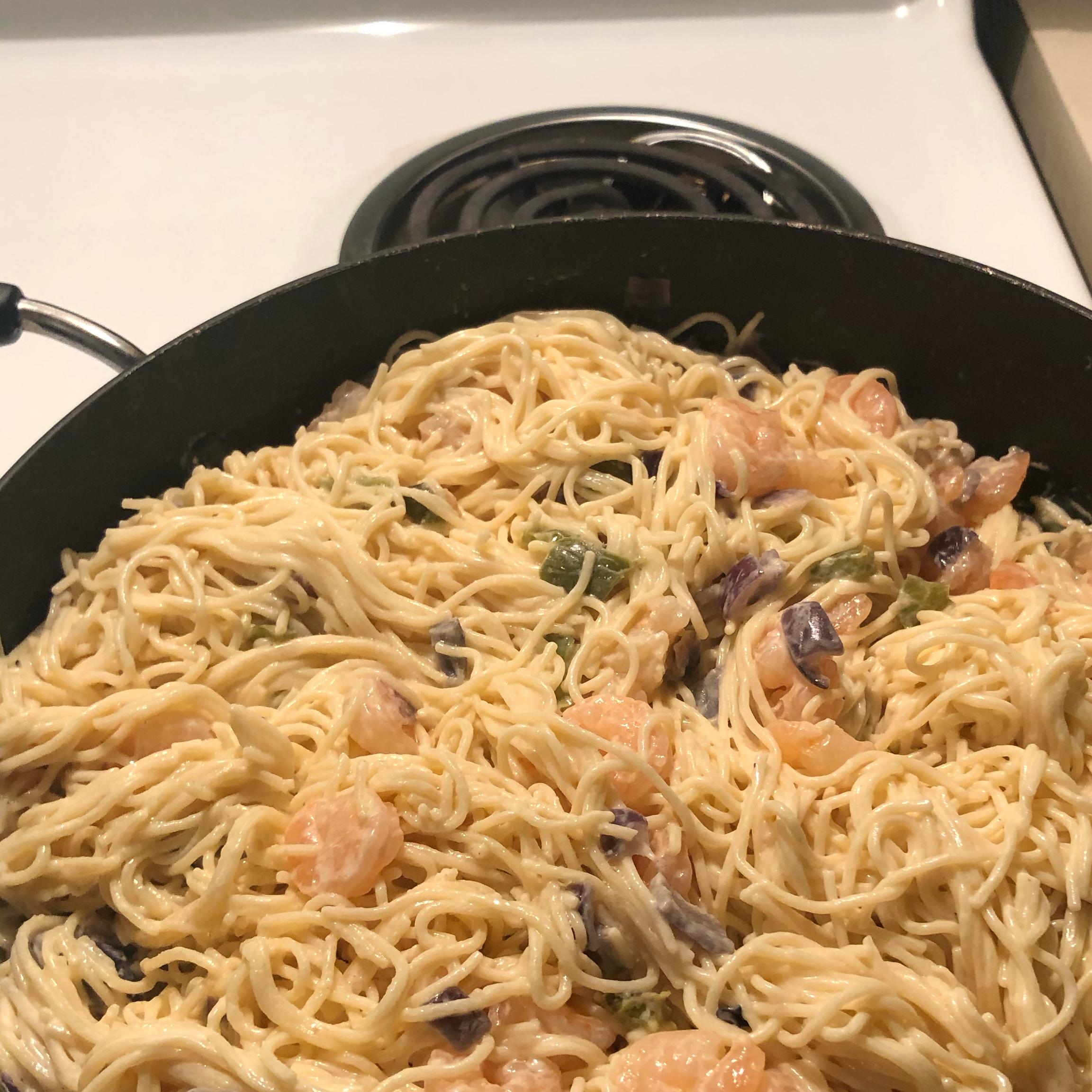 Shrimp Alfredo Pasta Kimberly Coats