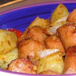 Roasted Creole Potatoes