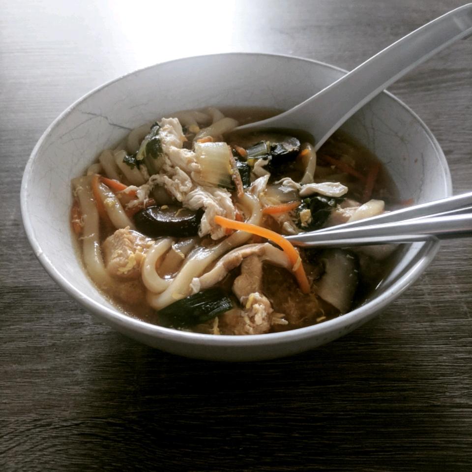 Japanese Nabeyaki Udon Soup John Ryle