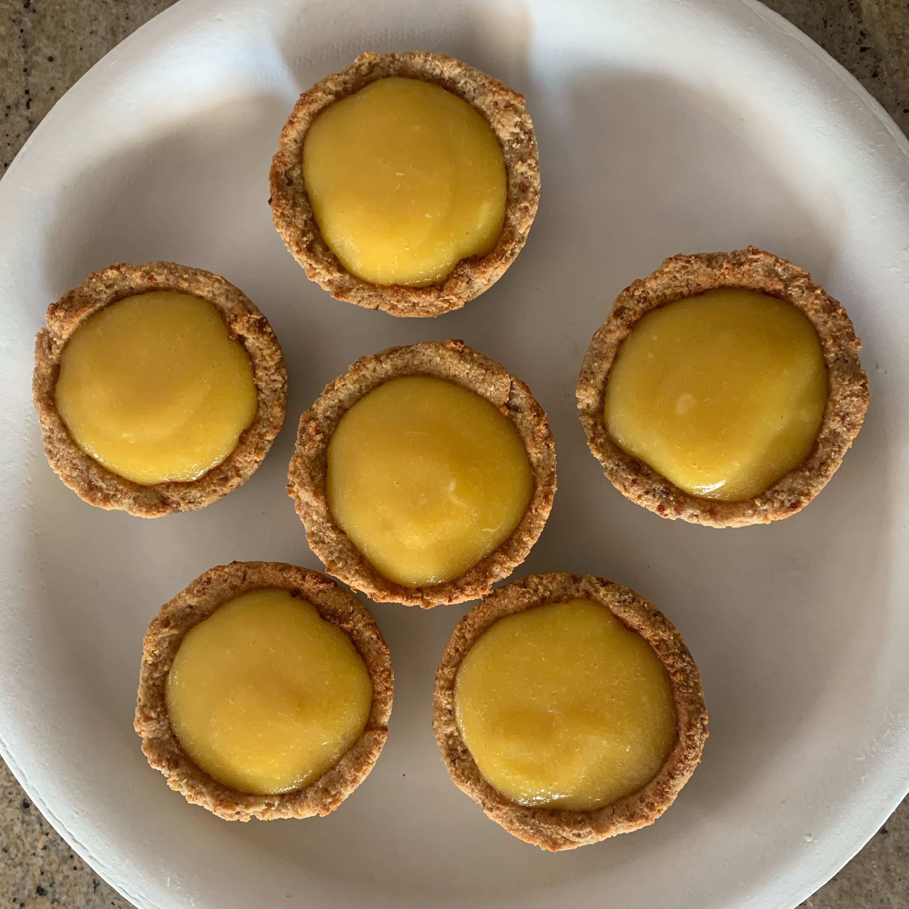 Paleo Lemon Tarts crazycookin