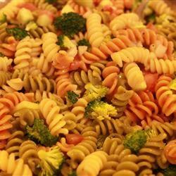 Rainbow Pasta Salad Kari