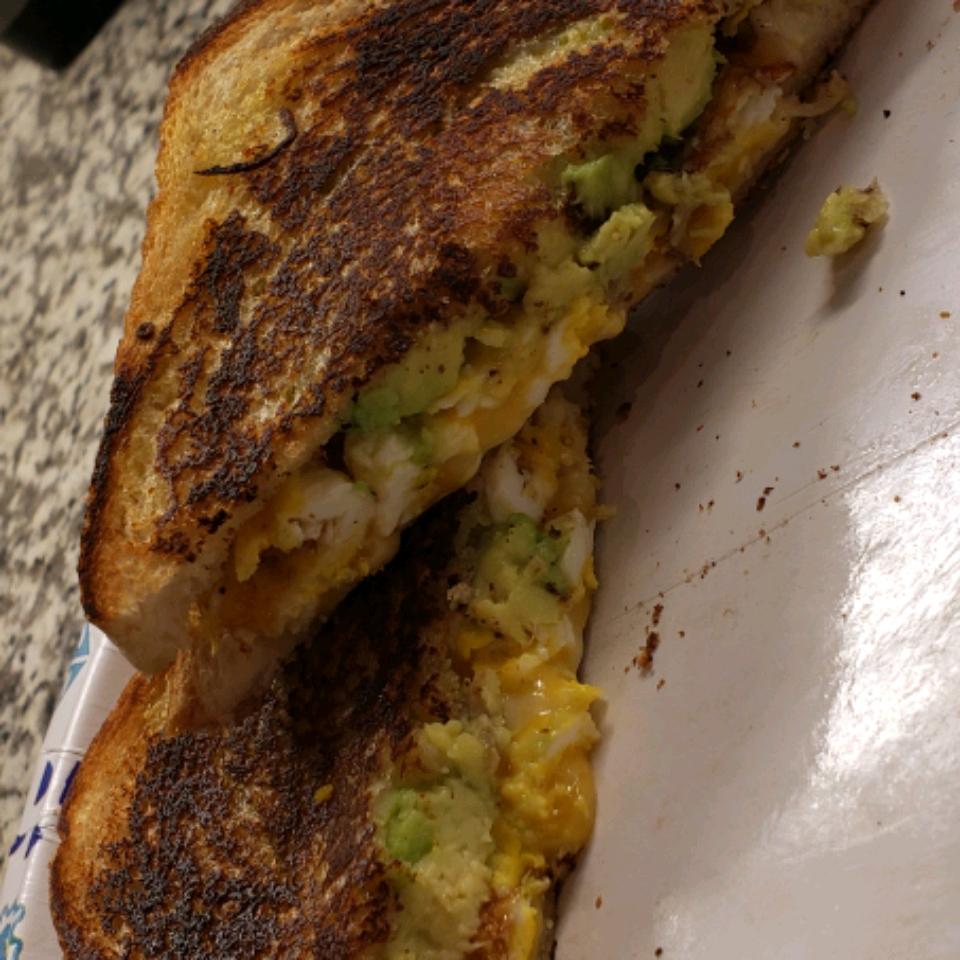 Avocado Breakfast Sandwich Michael Juneau