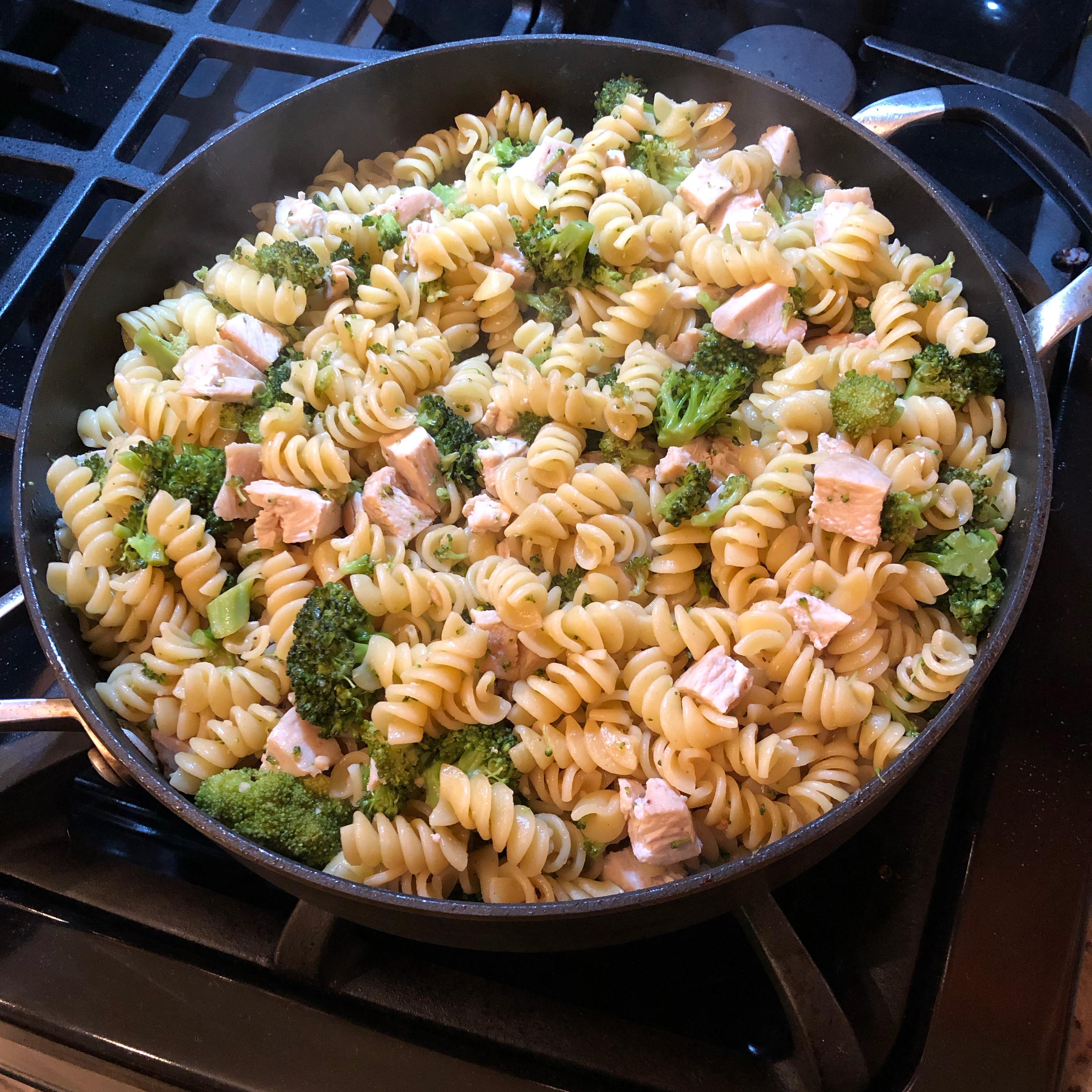 Cavatelli and Broccoli