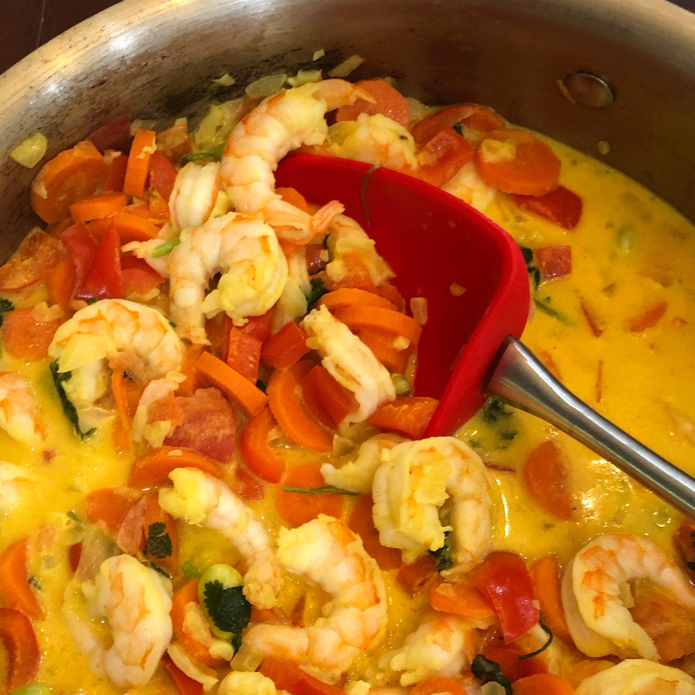 Coconut Milk Shrimp Soup kristen.kdr