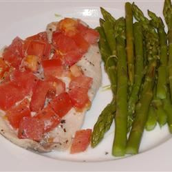 Easy Tilapia with Wine and Tomatoes JMORELLO