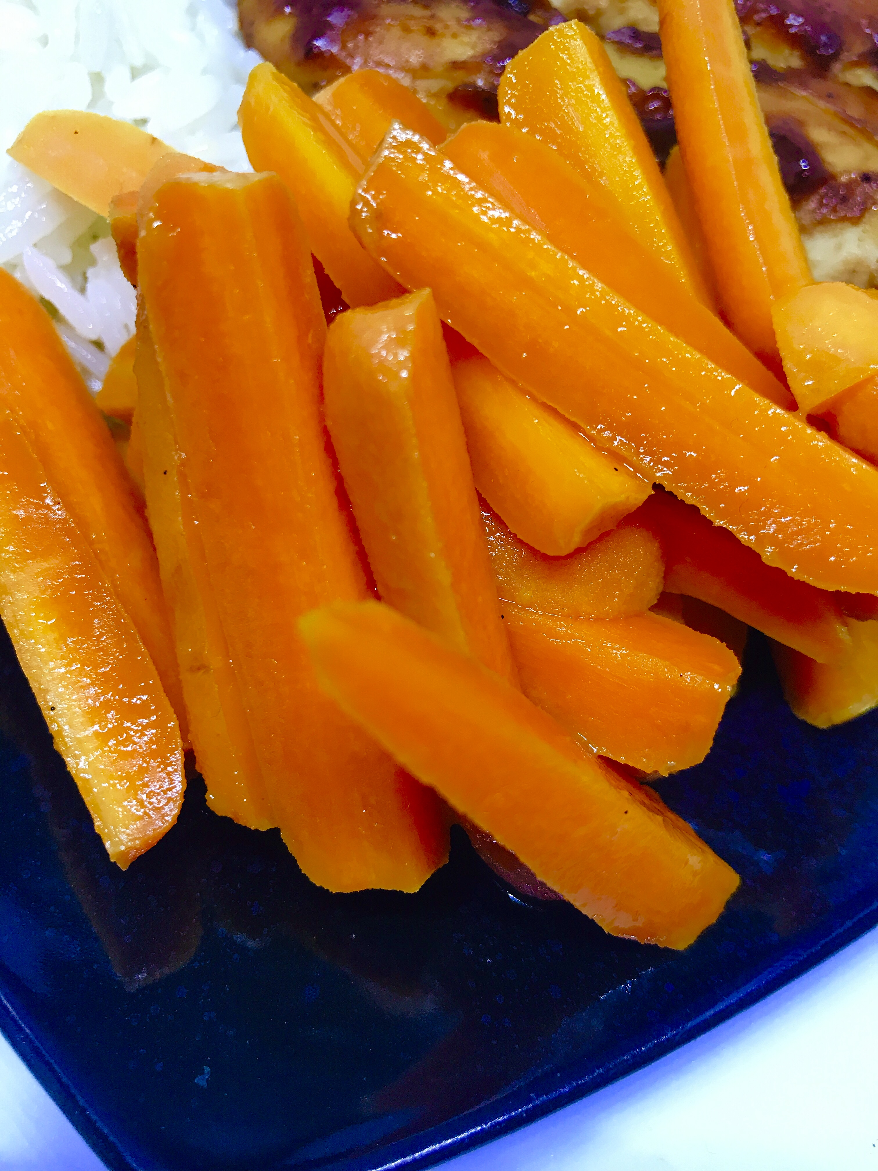 Instant Pot® Orange-Ginger Carrots thedailygourmet