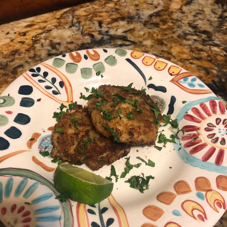 Ginger Crab Cakes Christine McCarron
