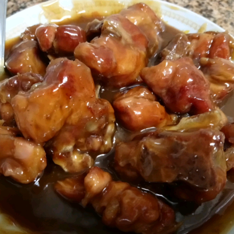 Mom's 'Sweet 'n' Sours' Pork Ribs