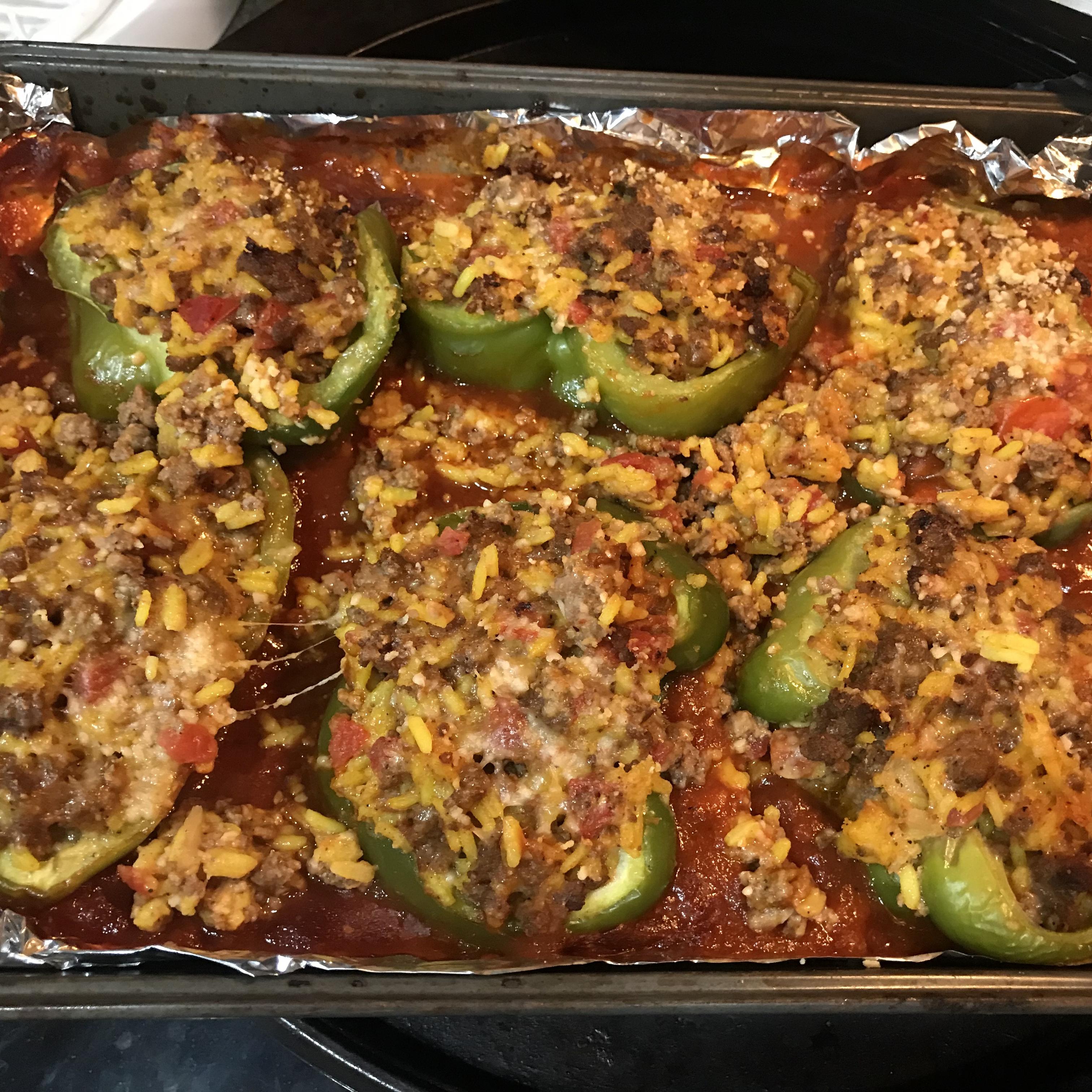 Chef John's Stuffed Peppers