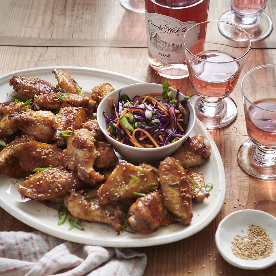 Sweet and Garlicky Korean Chicken Wings