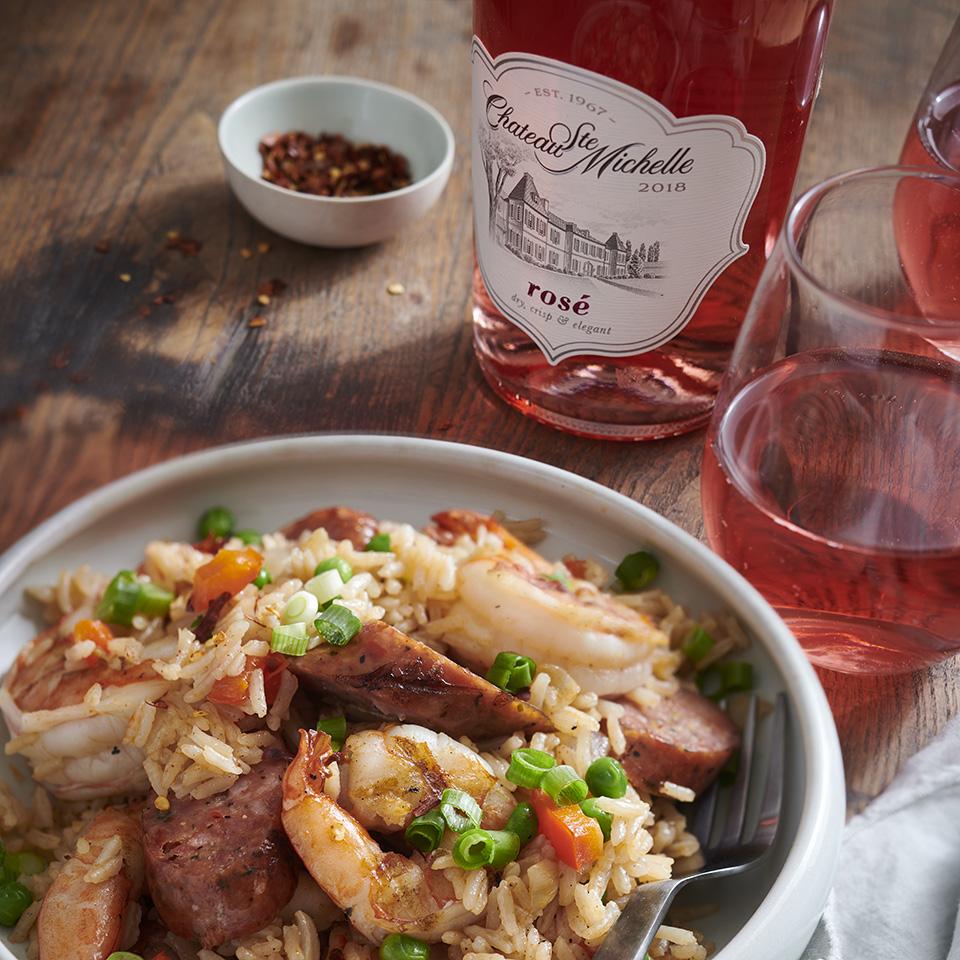 Cajun-Style Rice Pilaf Chateau Ste Michelle