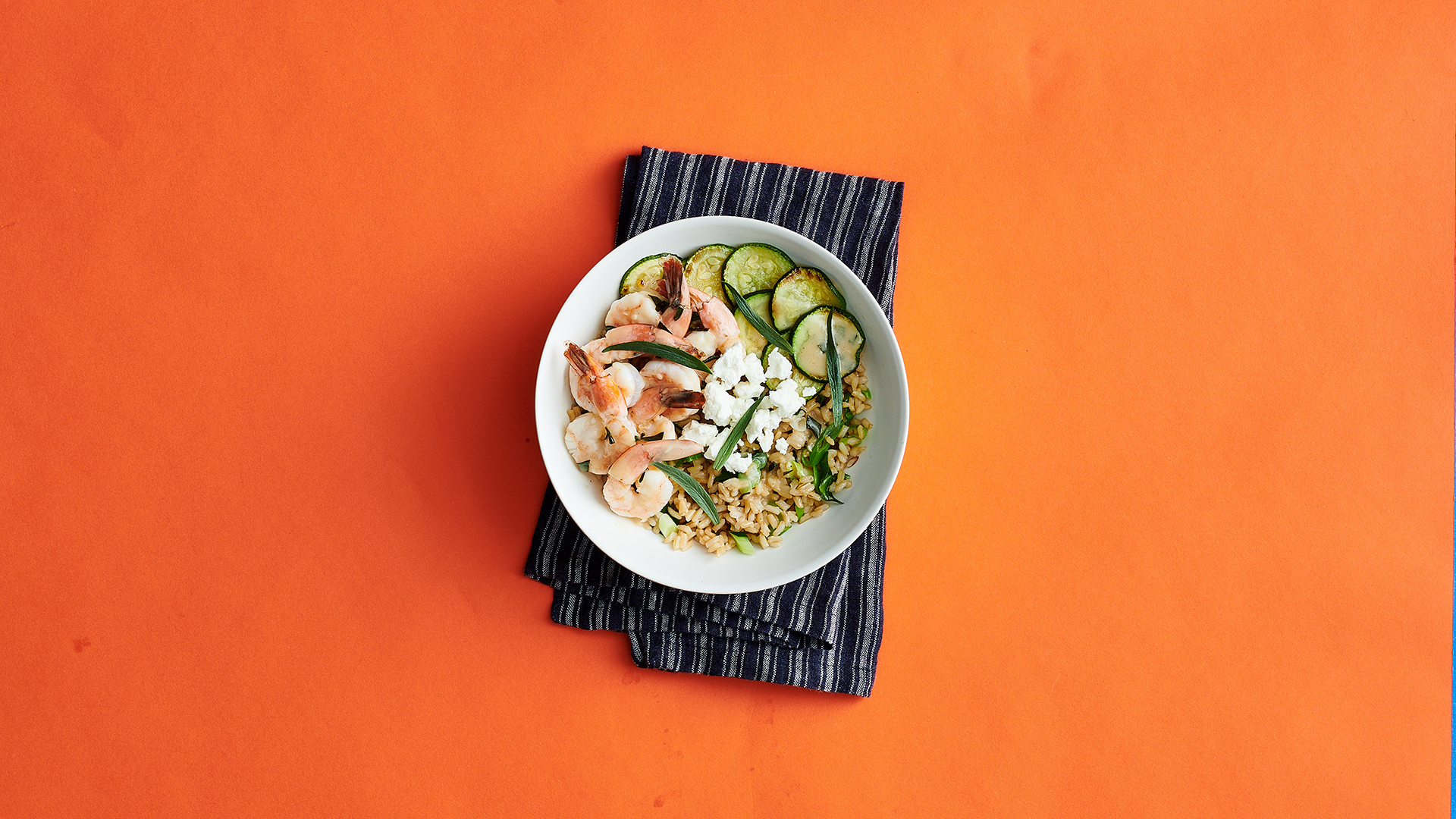 Shrimp and Zucchini Rice Bowl