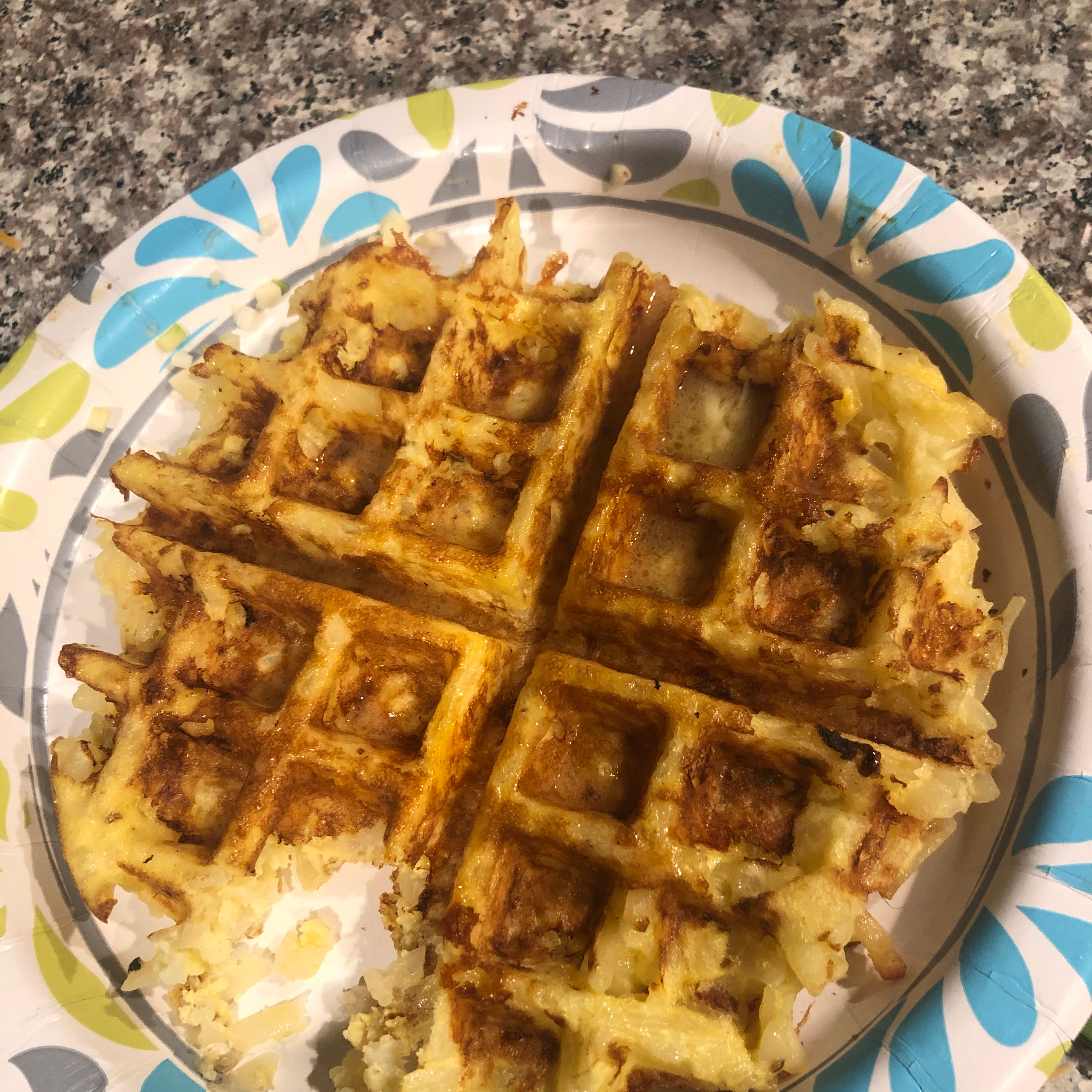 Shonna's Waffle Browns