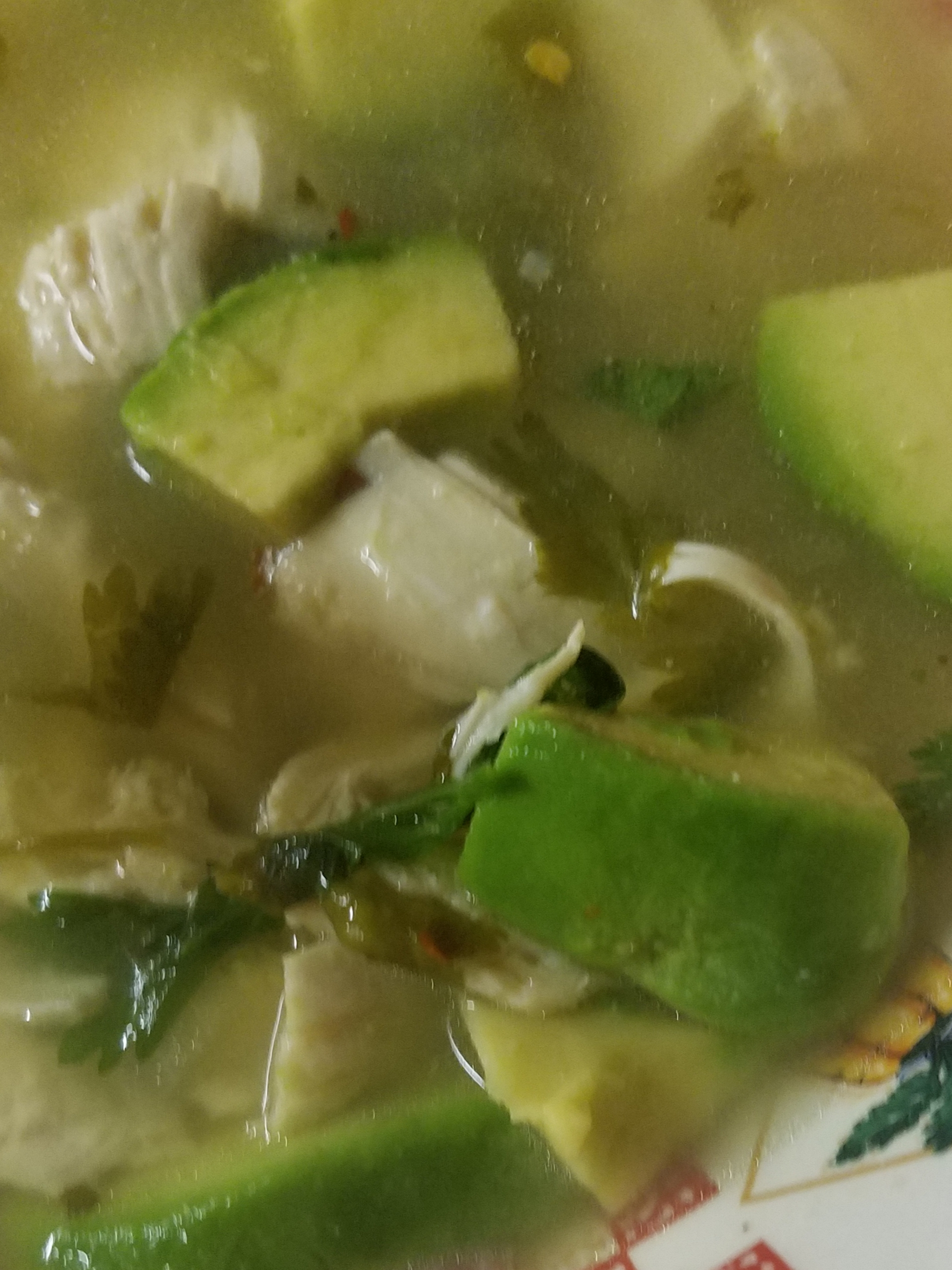 Spicy Lime Avocado Soup