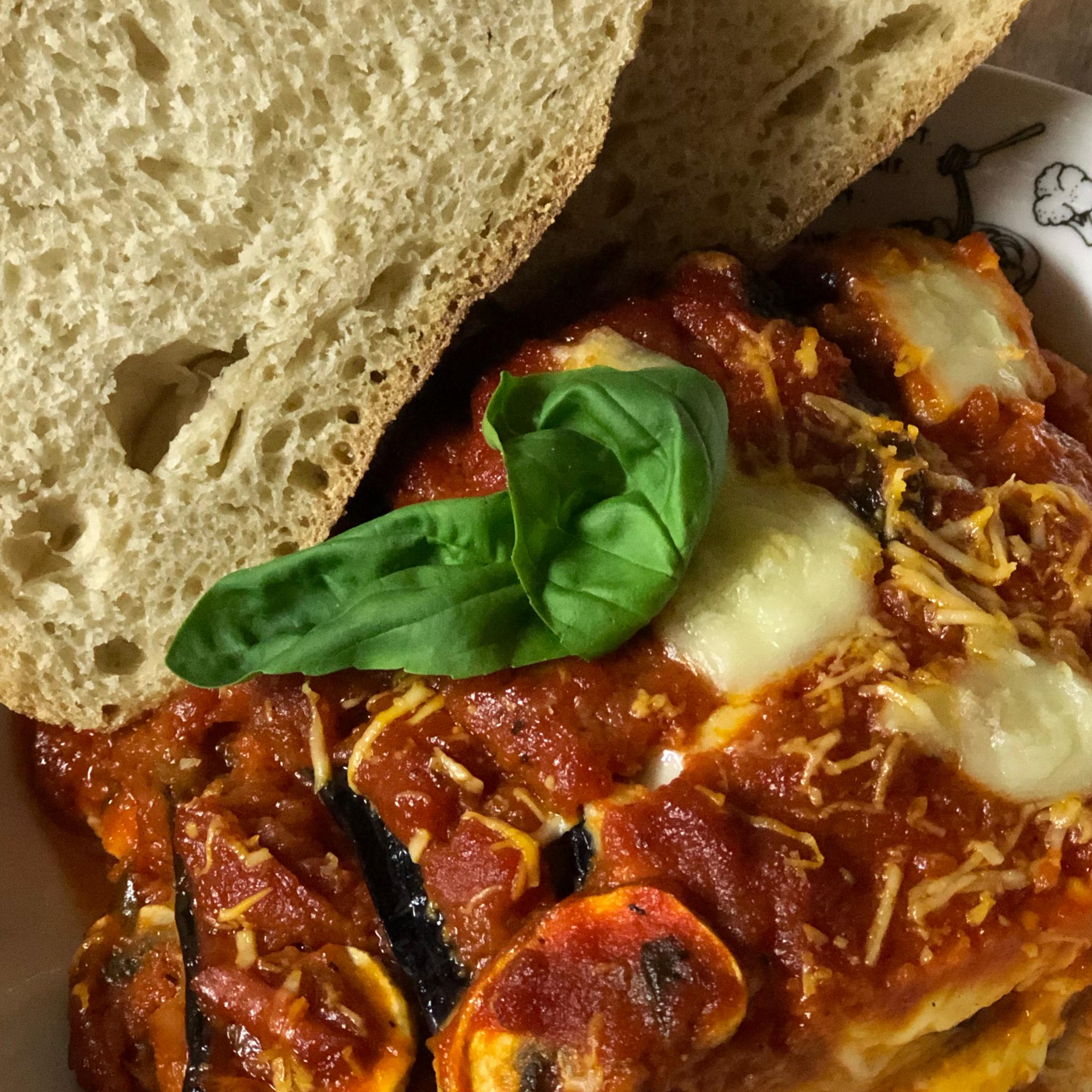 Italian Baked Eggplant with Parmesan (Parmigiana di Melanzane) Kris Murzyn