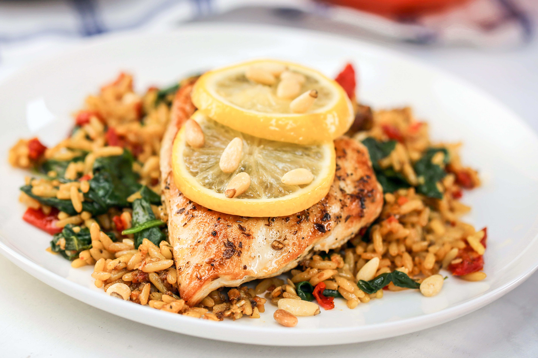 Mediterranean Chicken Skillet Dinner Uncle Ben's