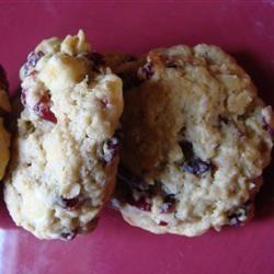 Cranberry Oatmeal Cookies megnrn