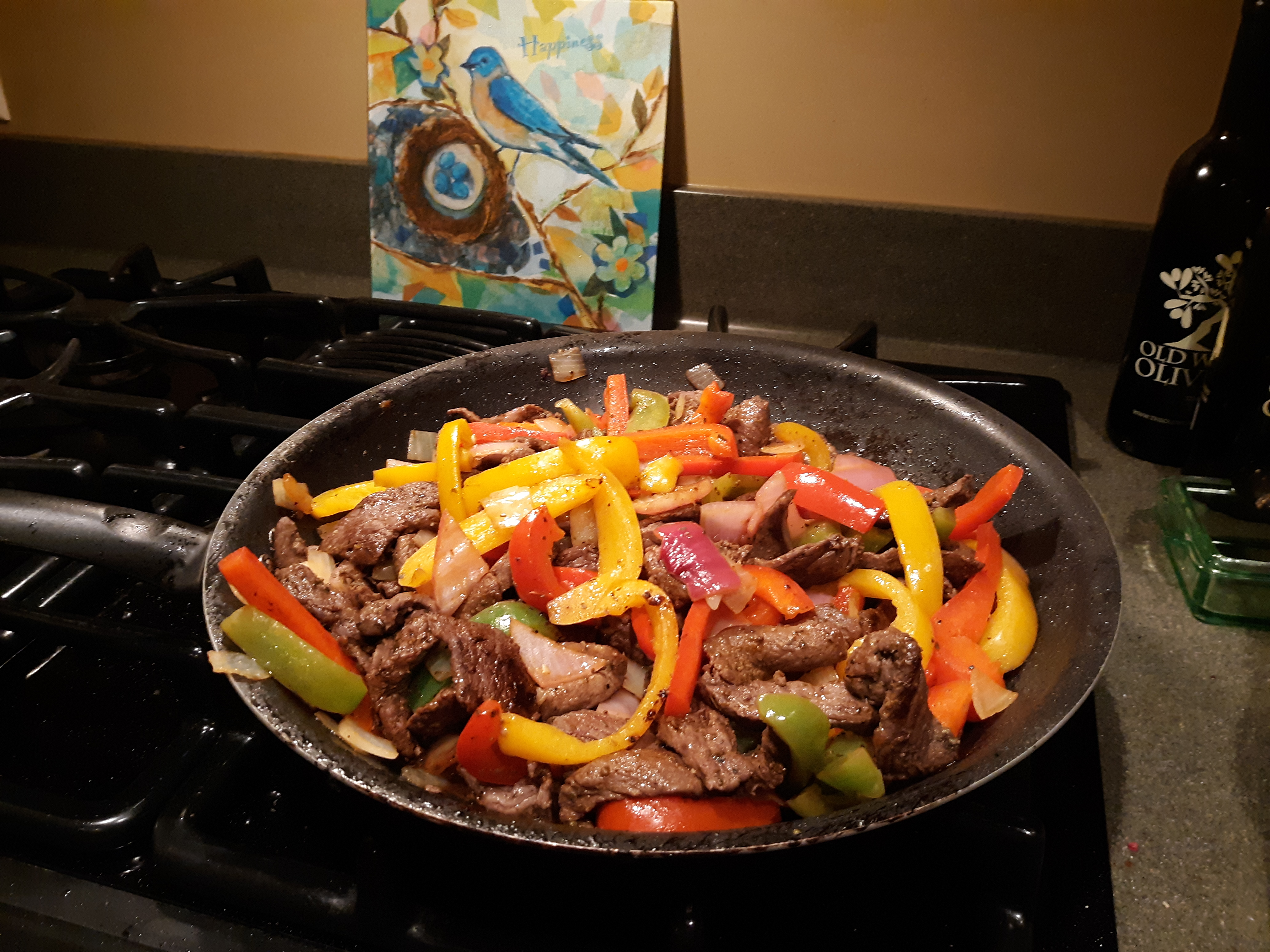 Venison Fajitas Mary Lou 'Ronda' Throop
