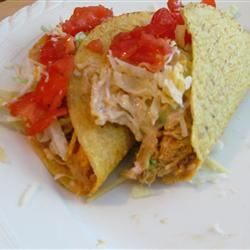 Ranch Chicken Tacos Neely Swob Ursery