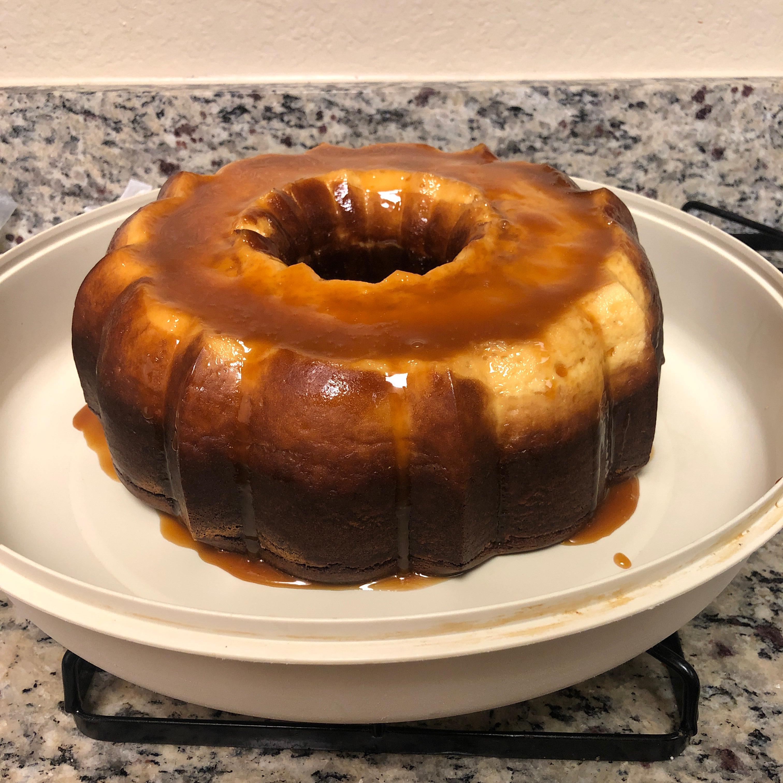 Chocolate Caramel Flan Cake