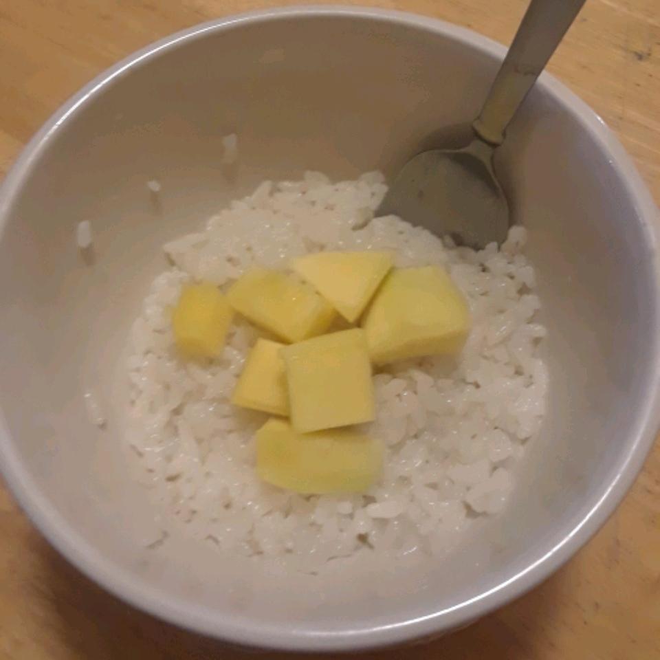 Sweet Sticky Rice with Mangoes Samuel Davis