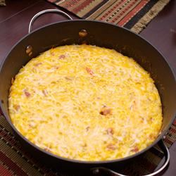 Potato and Cheese Frittata