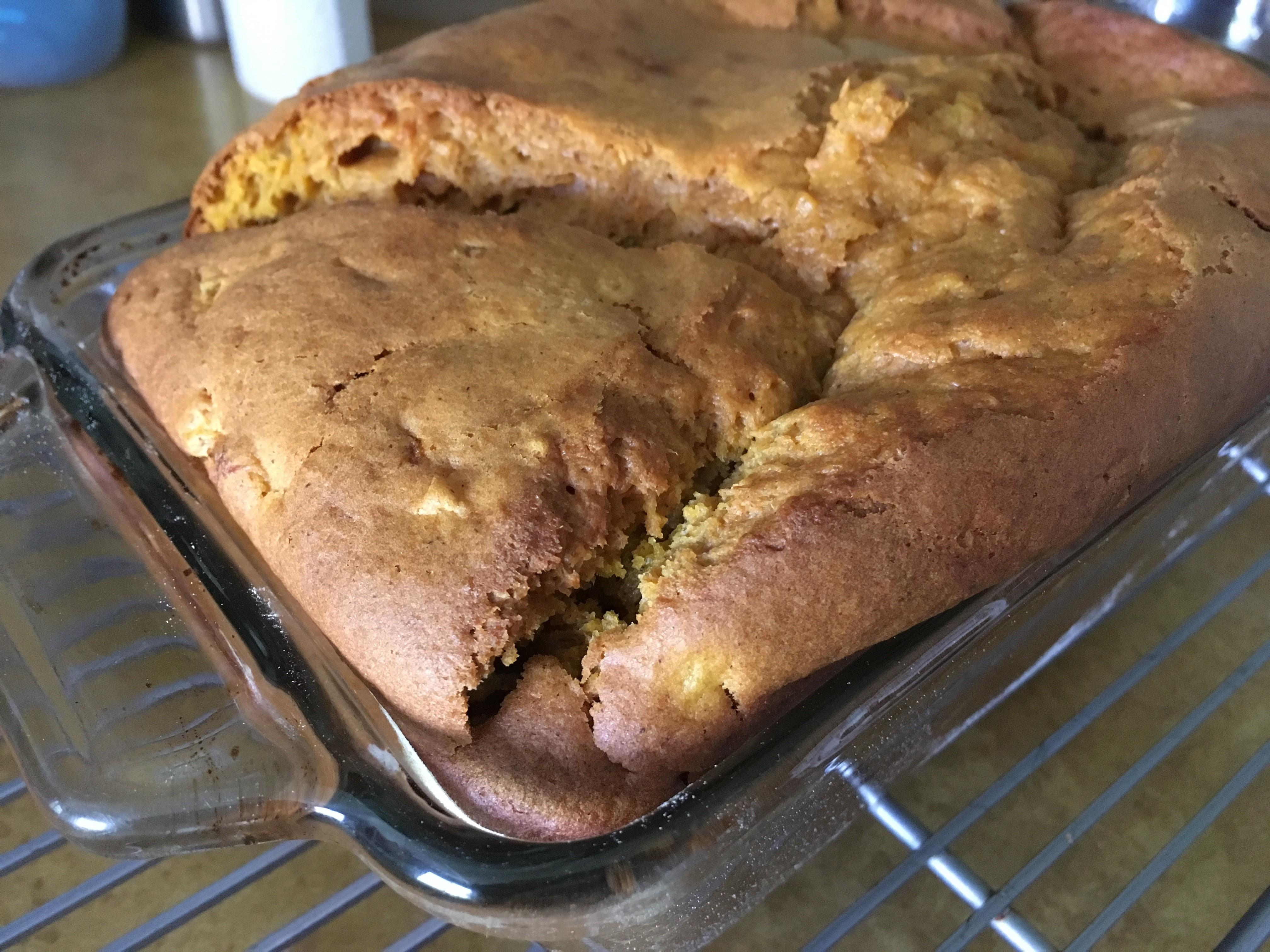 Sweet Potato-Pineapple Breakfast Bread