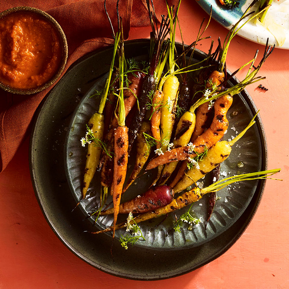 Grilled Carrots with Smoky Ketchup Trusted Brands