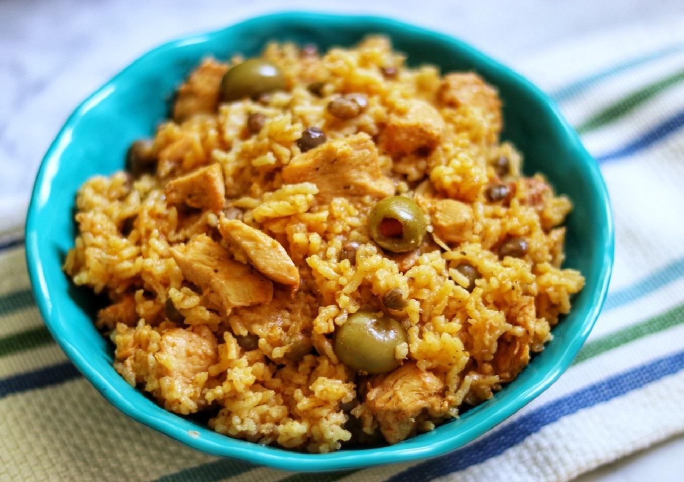 Instant Pot® Puerto Rican Arroz con Pollo