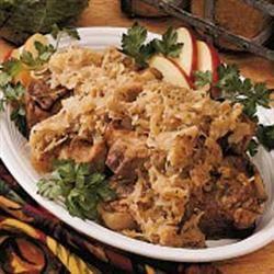 Alsatian Pork and Sauerkraut Nancy Gibson