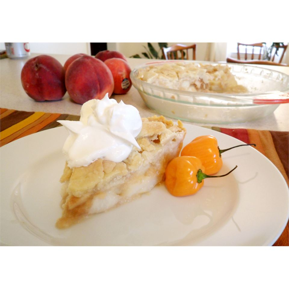 Greg's Hot Peach Pie