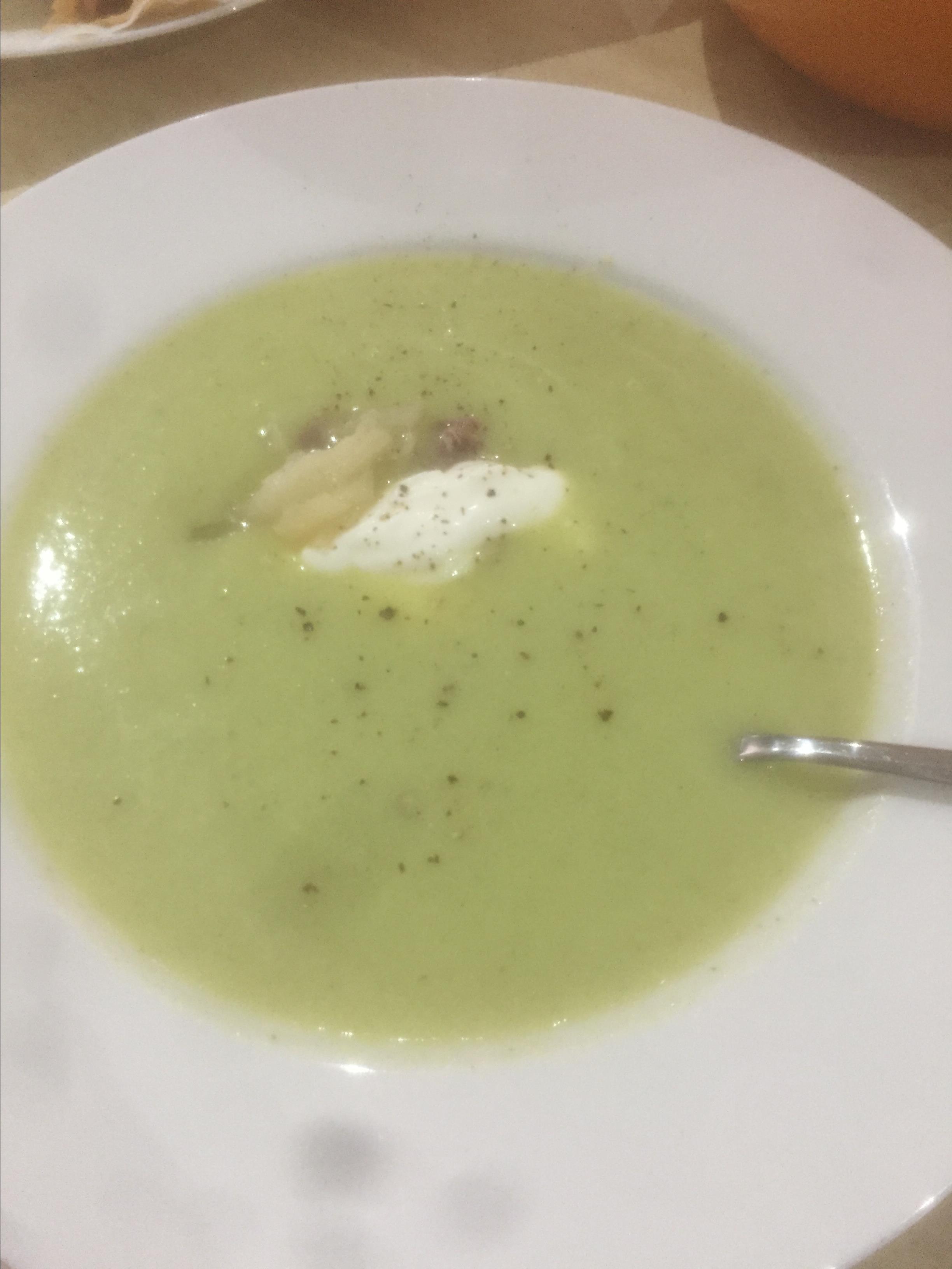 Simple Cucumber Soup Anita Marie