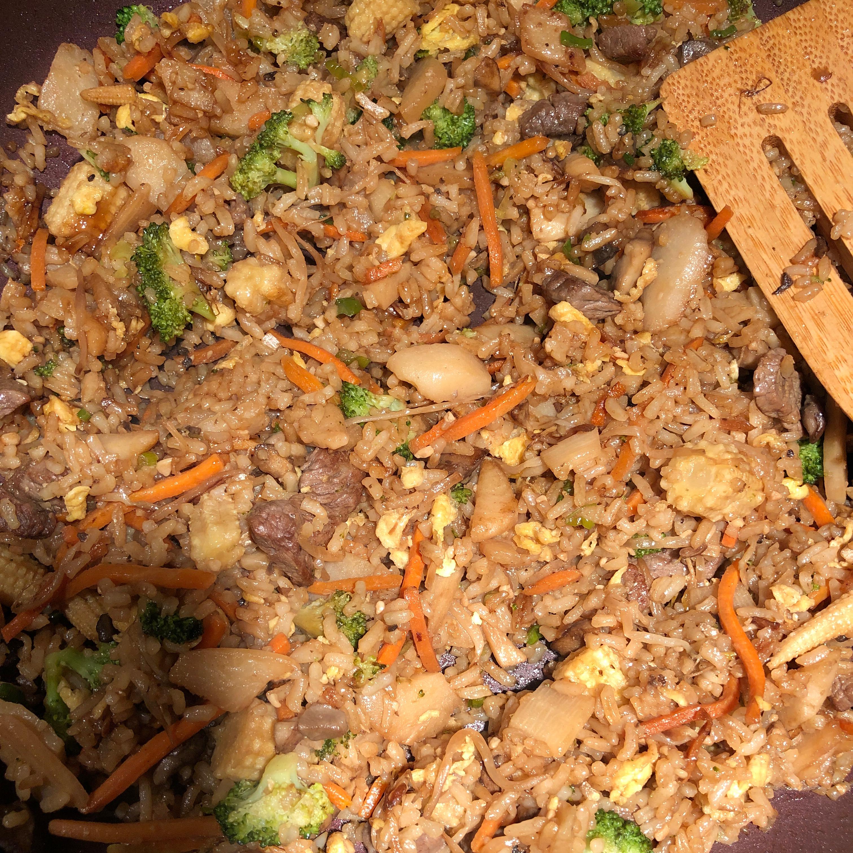 Vegetarian Fried Rice Brian Warwick