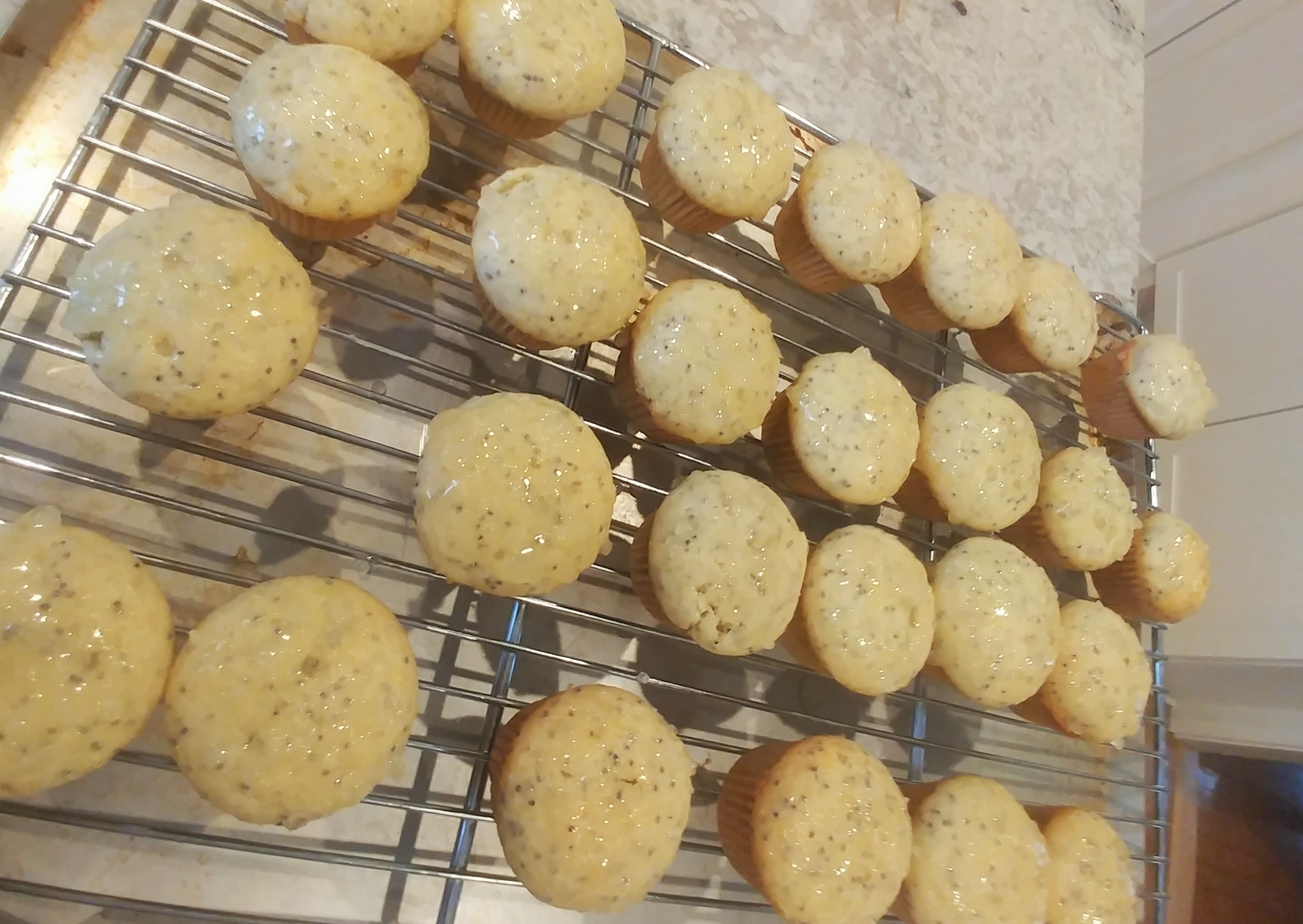 Quick Lemon Poppy Seed Muffins Cate